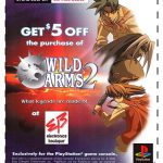 PlayStation Wild Arms 2 Demo Disc