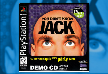 PlayStation You Don't Know Jack Demo CD
