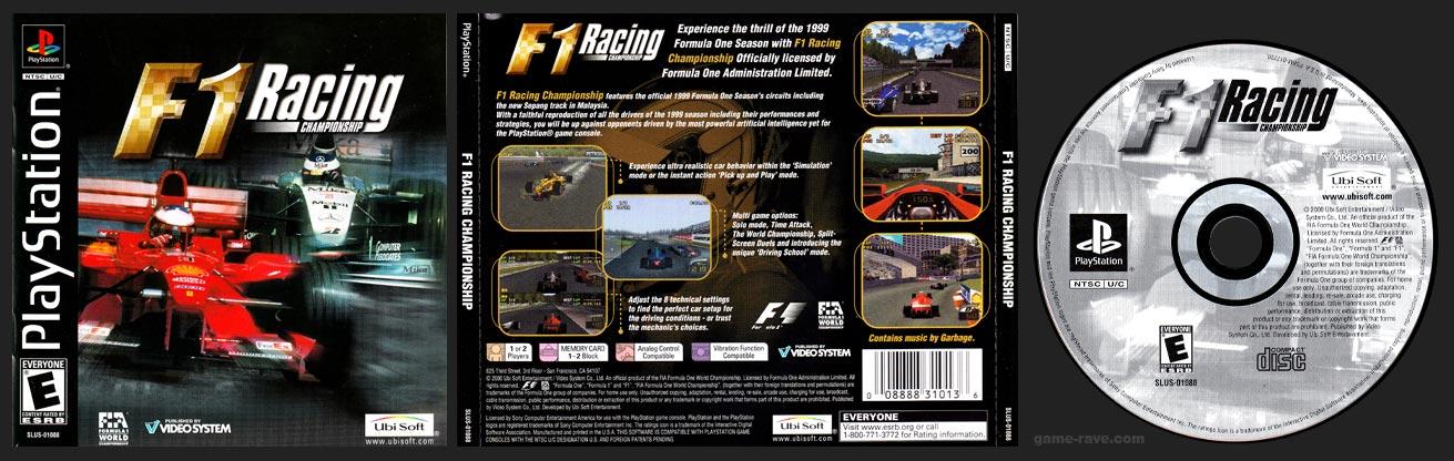 PlayStation F1 Racing Championship