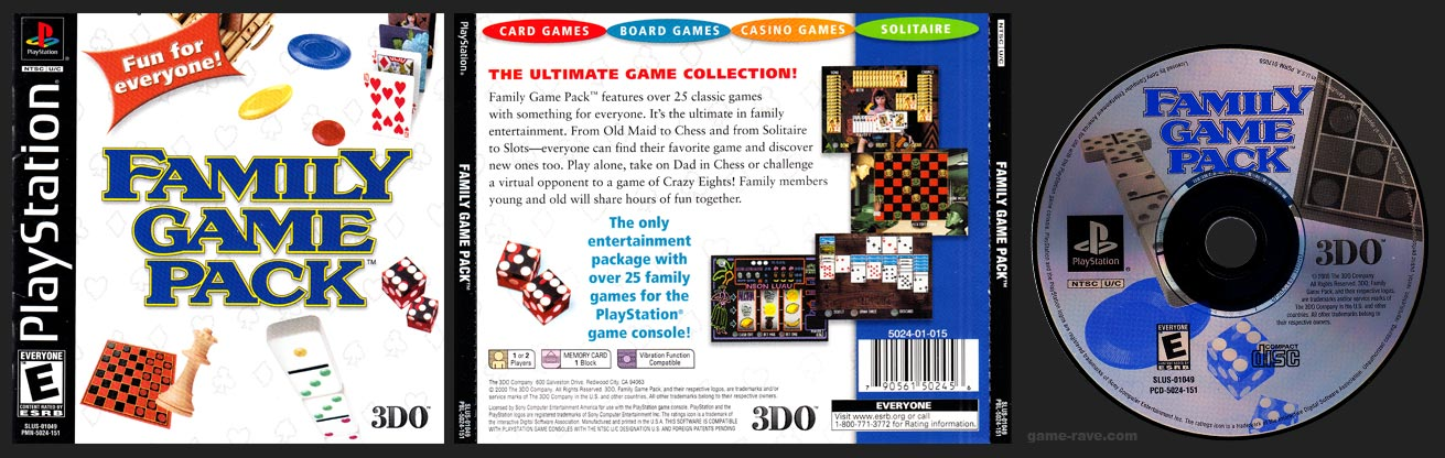 PlayStation Family Game Pack