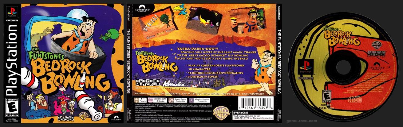 PlayStation Flintstones: Bedrock Bowling