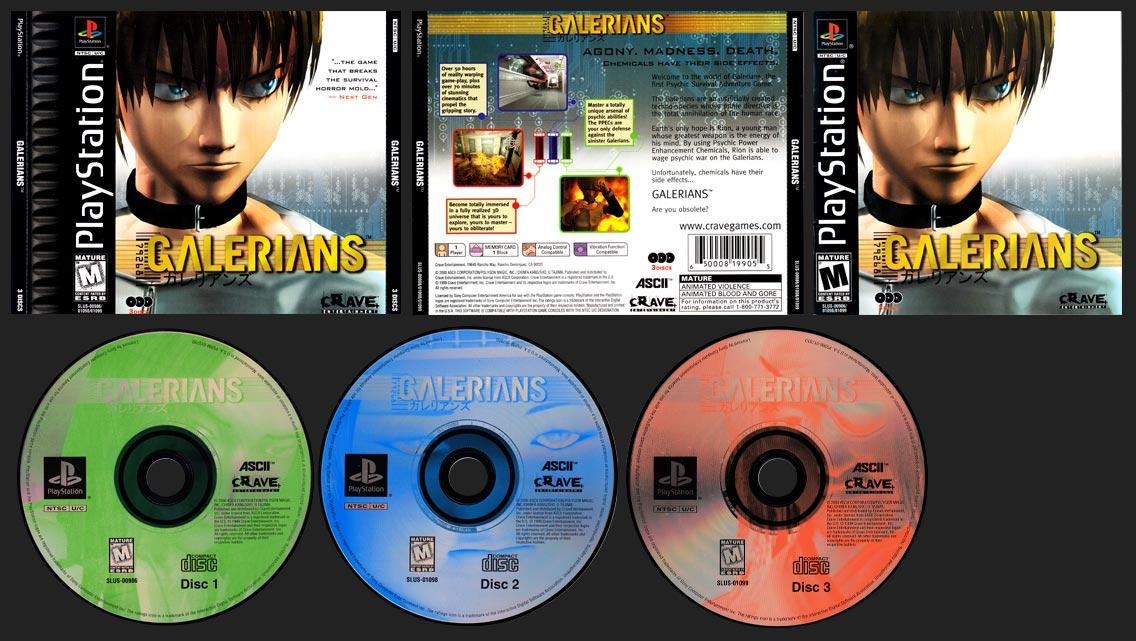 PlayStation Galerians