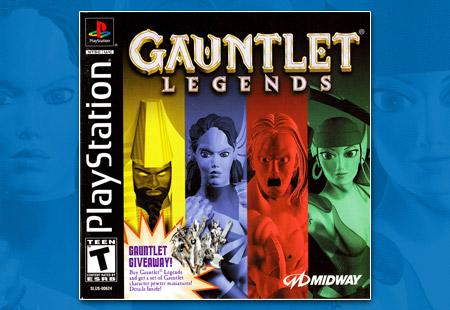 PlayStation Gauntlet Legends