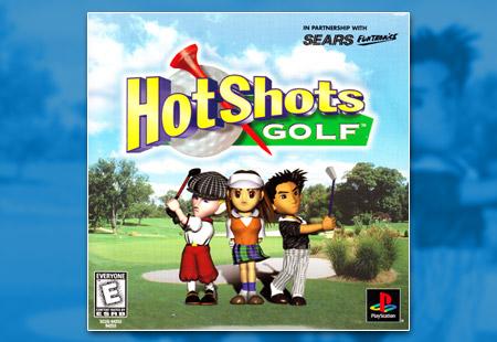 PlayStation Hot Shots Golf Demo CD