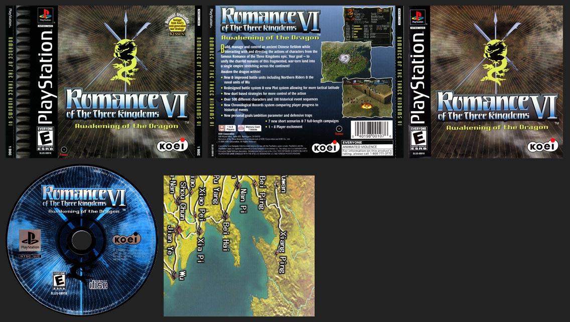 PlayStation Romance of the Three Kingdoms VI: Awakening of the Dragon