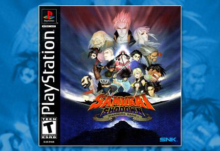 PlayStation Samurai Shodown: Warrior's Rage