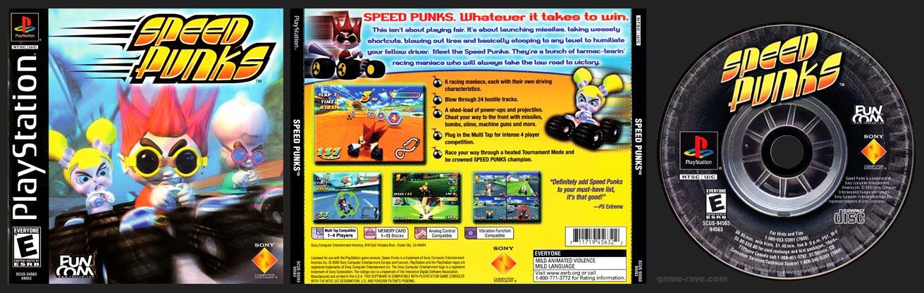 PlayStation Speed Punks