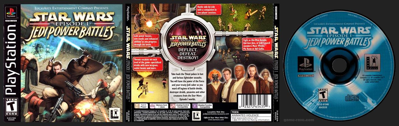 PlayStation Star Wars Episode I: Jedi Power Battles