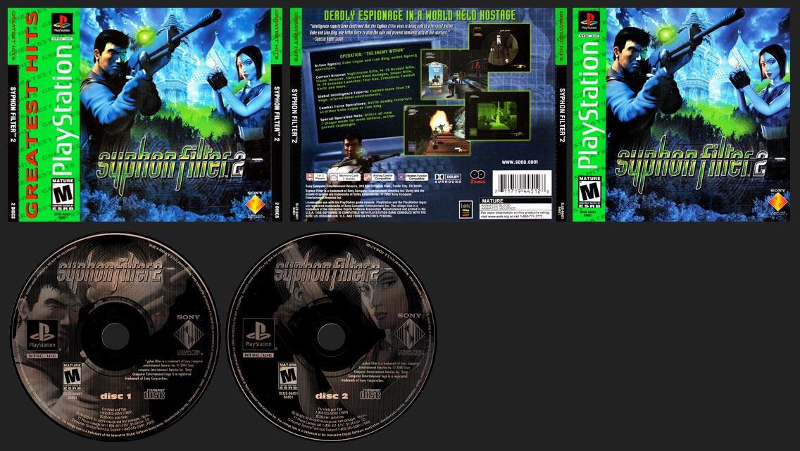 PlayStation PlayStation Syphon FIlter 2