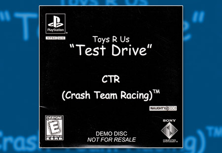 "PlayStation CTR: Crash Team Racing - Toys R Us ""Test Drive"" Demo"