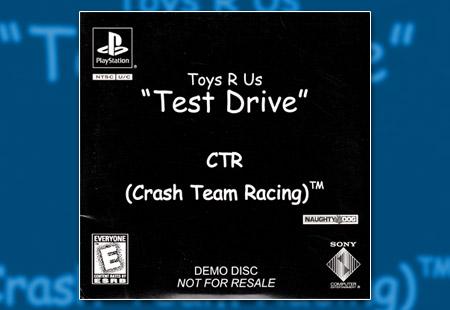 "PlayStation CTR: Crash Team Racing - Toys R Us ""Test Drive"" Demo"