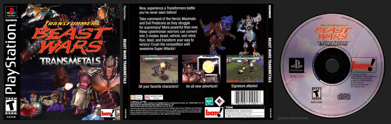 PlaySTation TransFormers Beast Wars: Transmetals
