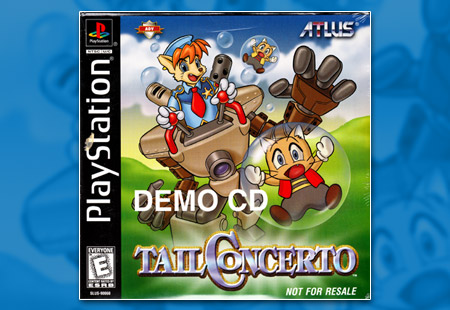 PlayStation Tail Concerto Demo CD