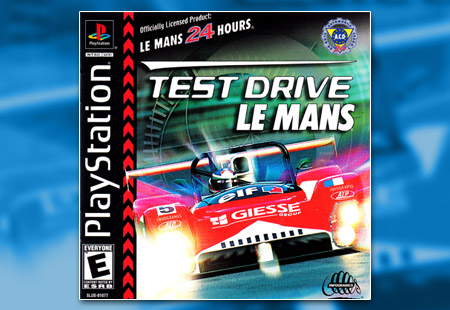 PlayStation Test Drive Le Mans