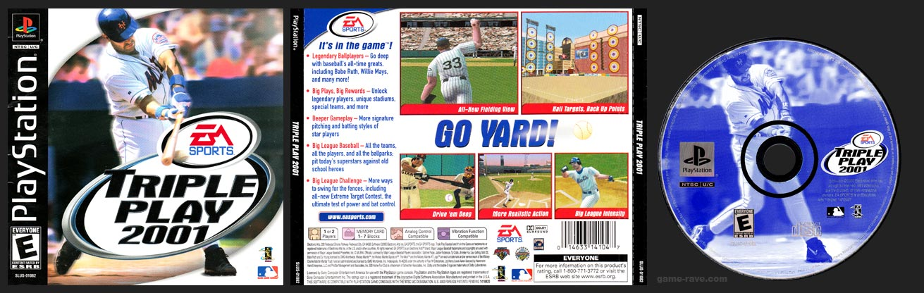 PlayStation Triple Play 2001