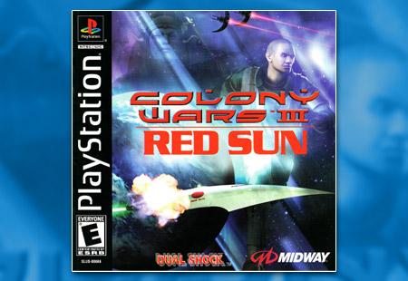 PlayStation Colony Wars III: Red Sun