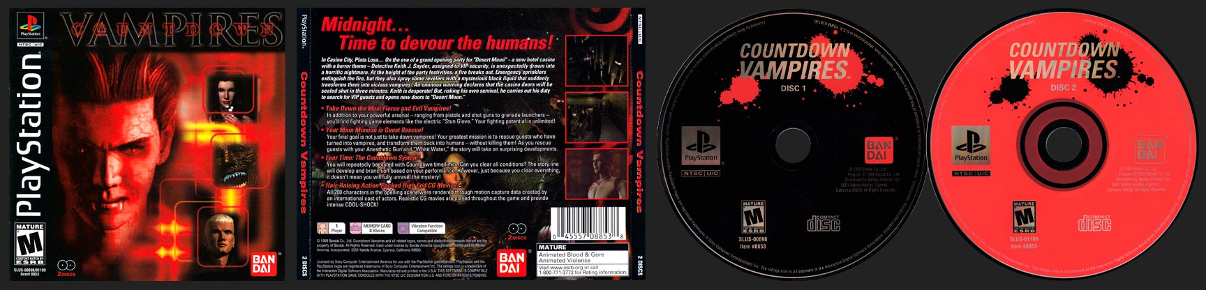 PlayStation Countdown Vampires