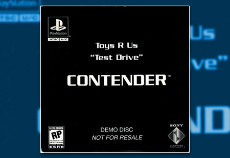 """PlayStation Toys R Us """"Test Drive"""" - Contender Demo Disc"""
