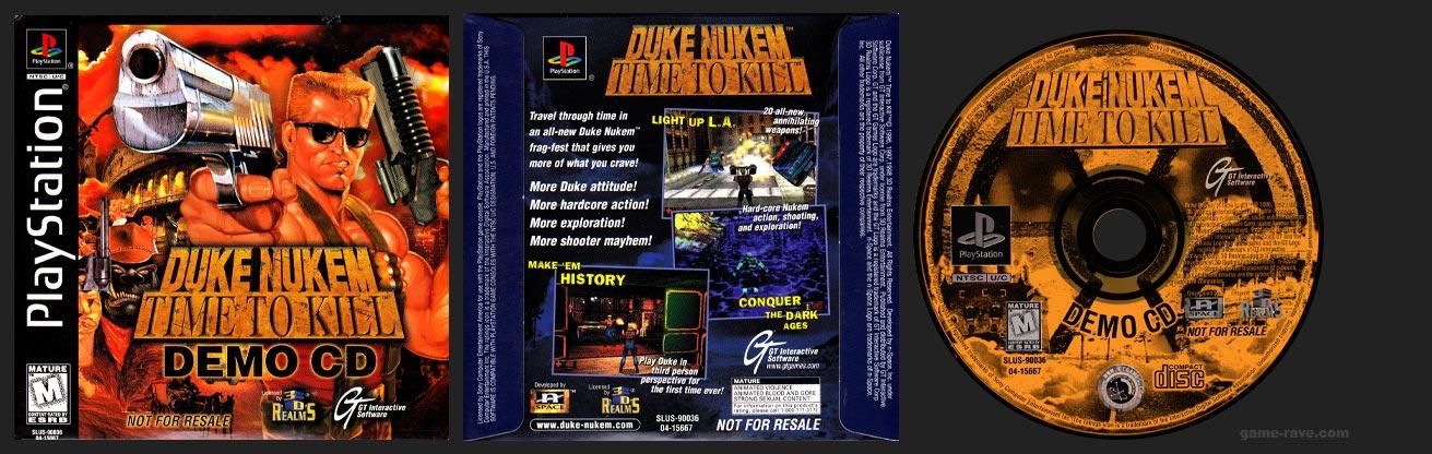 PlayStation Duke Nukem Time To Kill - Demo CD