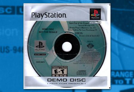 PlayStation Kiosk Demo Disc Version 1.20