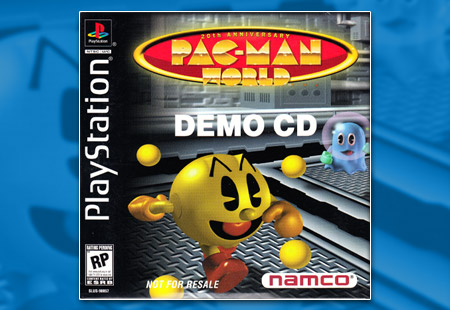 PlayStation Pac-Man World Demo CD