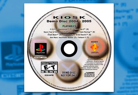 PlayStation Kiosk Demo Disc 2004-2005