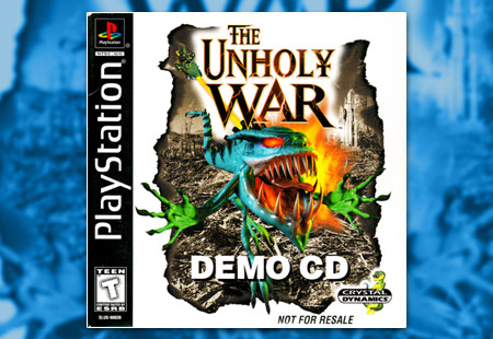 PlayStation Unholy War, The Demo CD