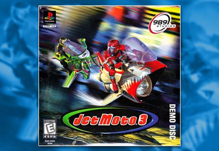 PlayStation Jet Moto 3 Demo Disc