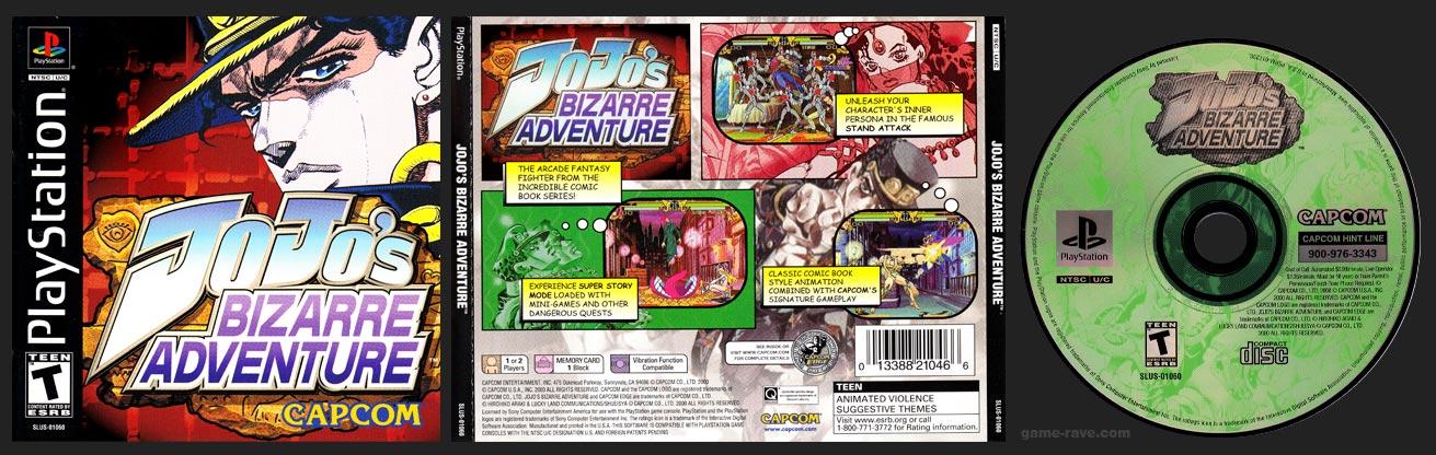 PSX PlayStation JoJo's Bizarre Adventure Black Label Retail Release