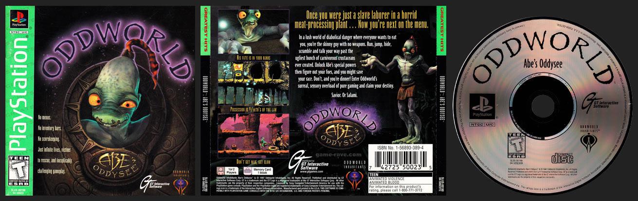 PlayStation Oddworld Abe's Oddysee