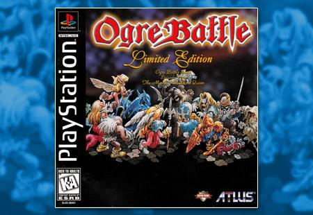 PlayStation Ogre Battle Limited Edition