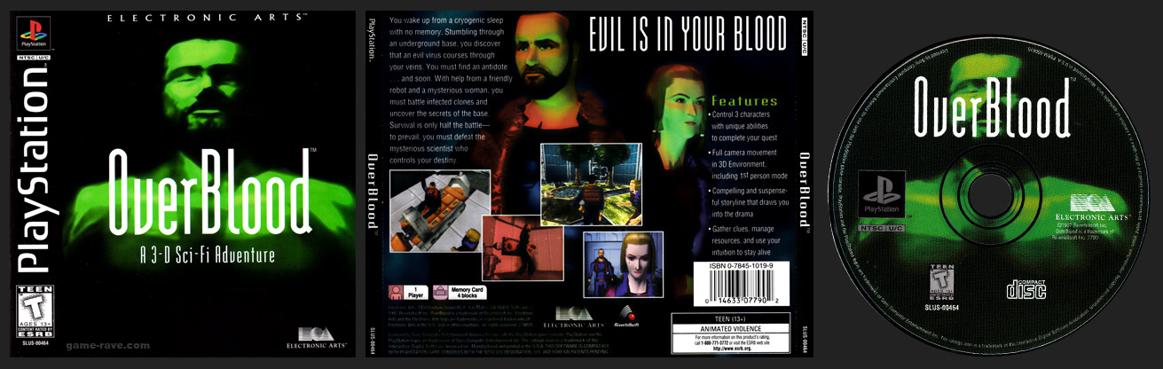 PlayStation Overblood