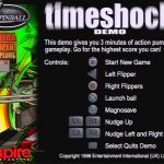 Pro-Pinball timeshock! Demo CD