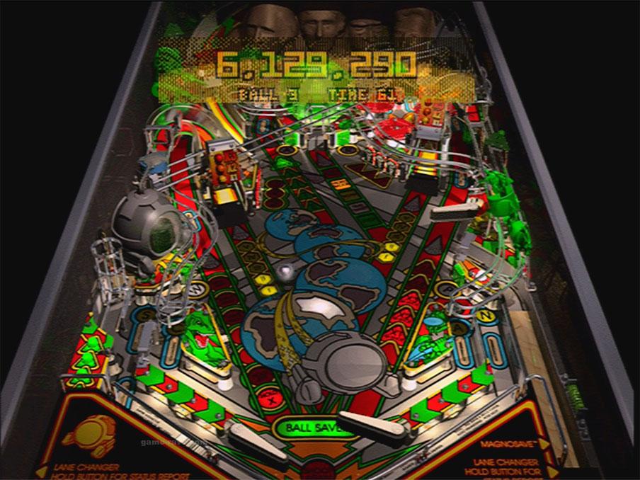 PSX Pro Pinball Time Shock Screenshot4