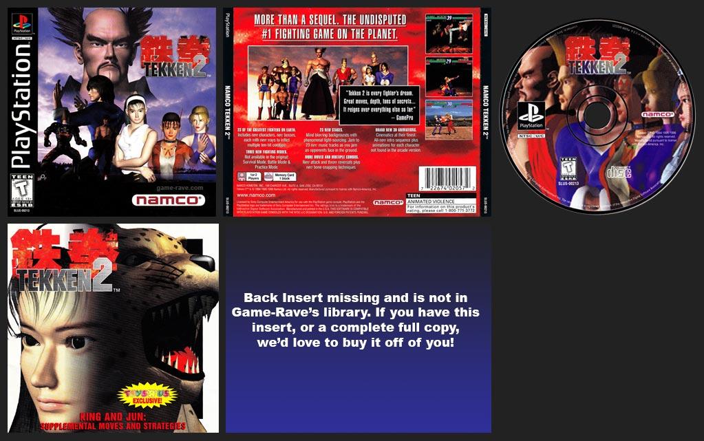 PlayStation Tekken 2 Mini-Guide Release
