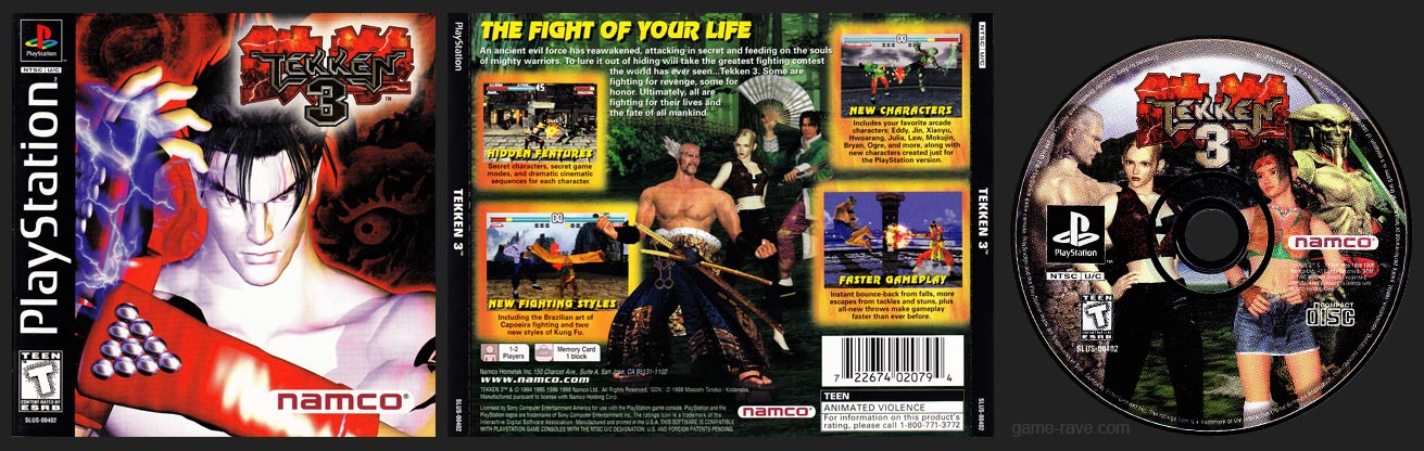 PlayStation Tekken 3