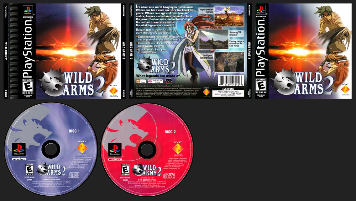 PlayStation Wild Arms 2