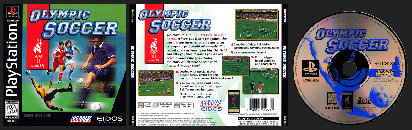 PlayStation Olympic Soccer