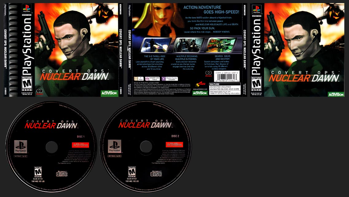 PlaySTation Covert Ops: Nuclear Dawn