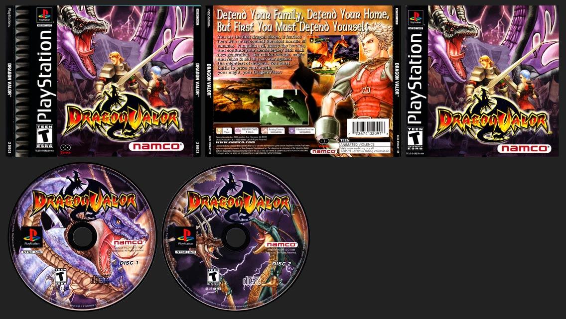 PSX PlayStation Dragon Valor