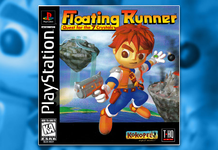 PSX Floating Runner: Quest For The 7 Crystals