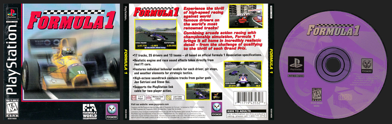 PSX Formula 1