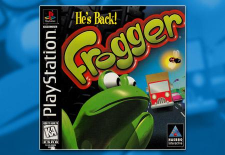 PSX Frogger