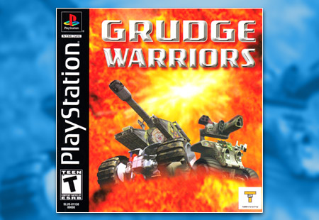 PSX PlayStation Grudge Warriors