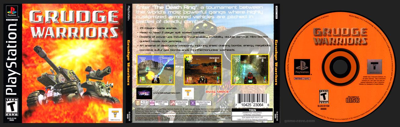 PSX PlayStation Grudge Warriors