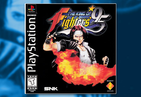 PSX PlayStation The King of Fighters '95