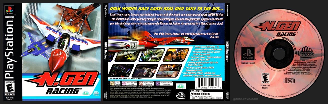 PSX PlayStation N.Gen Racing