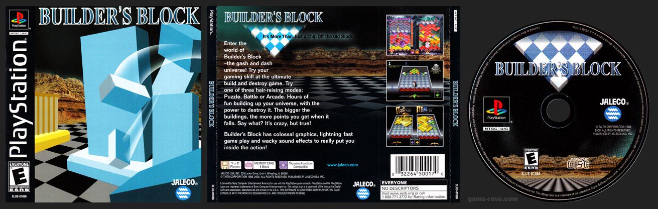 PSX PlayStation Builder's Block