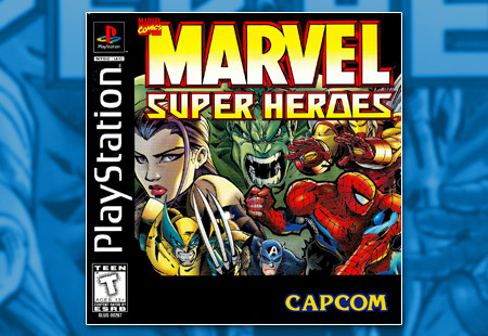 PSX PlayStation Marvel Super Heroes