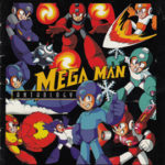 PSX PlayStation Mega Man 8 Collector's Edition Art Book Cover